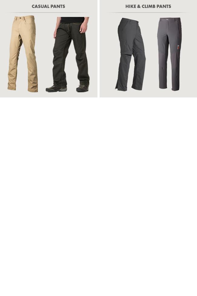 Men's Pants and Shorts