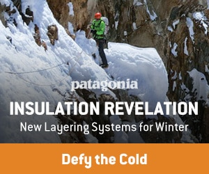 Patagonia Winter Insulation