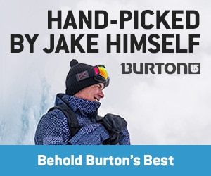 Burton - Jake's Picks