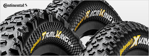 50% off Continental mountain tires