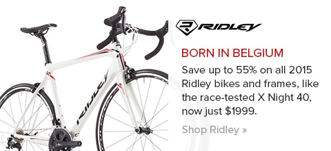 Save on 2015 Ridley