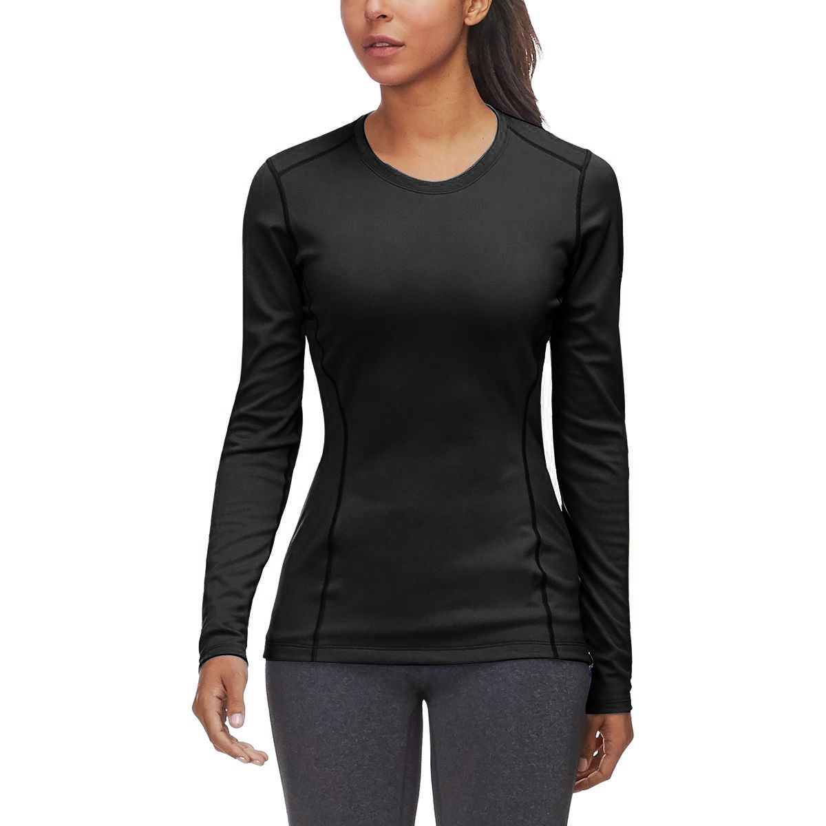 Arcteryx Womens Phase Ar Zip Neck Ls Long-Sleeved t-Shirt