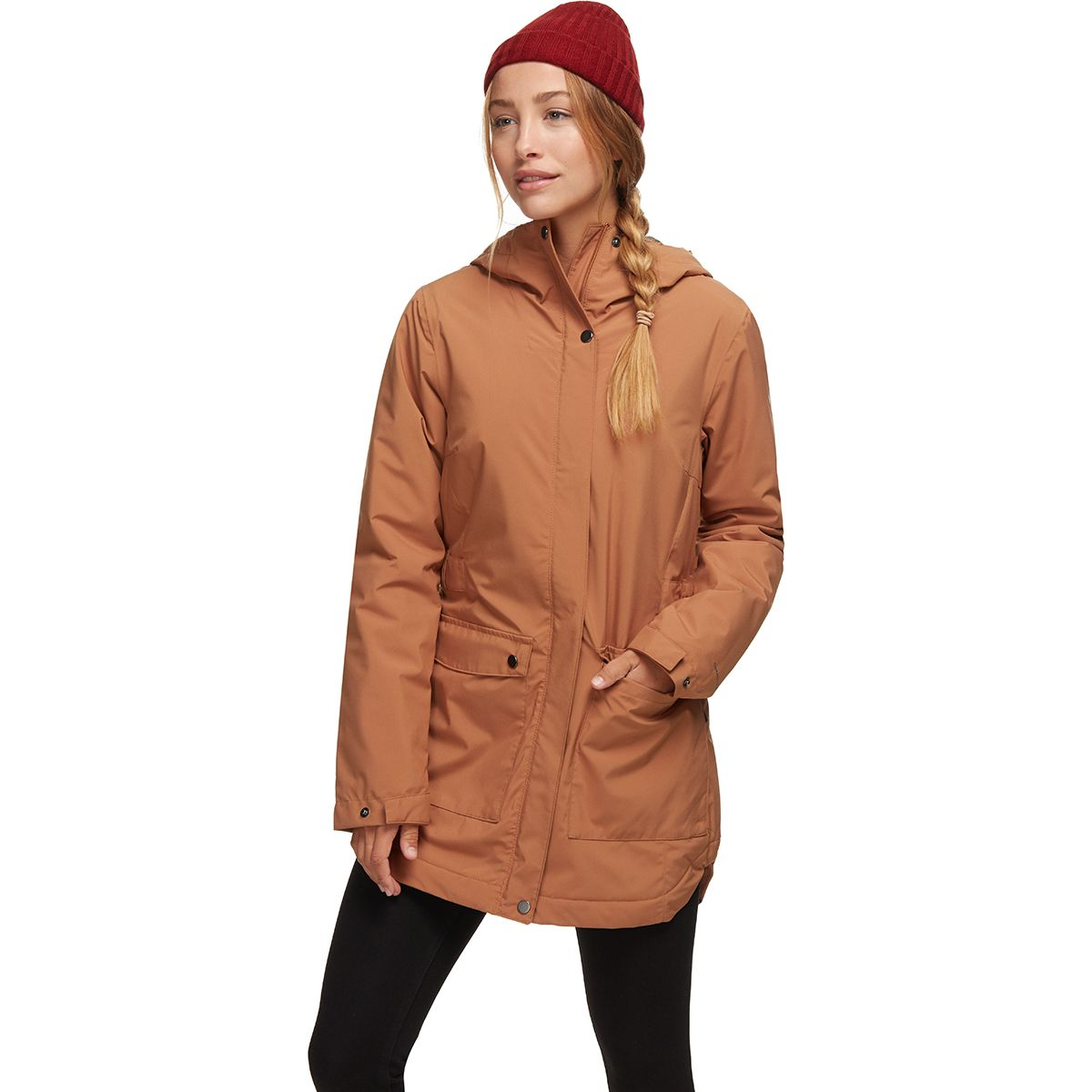 There Insulated Trench Jacket