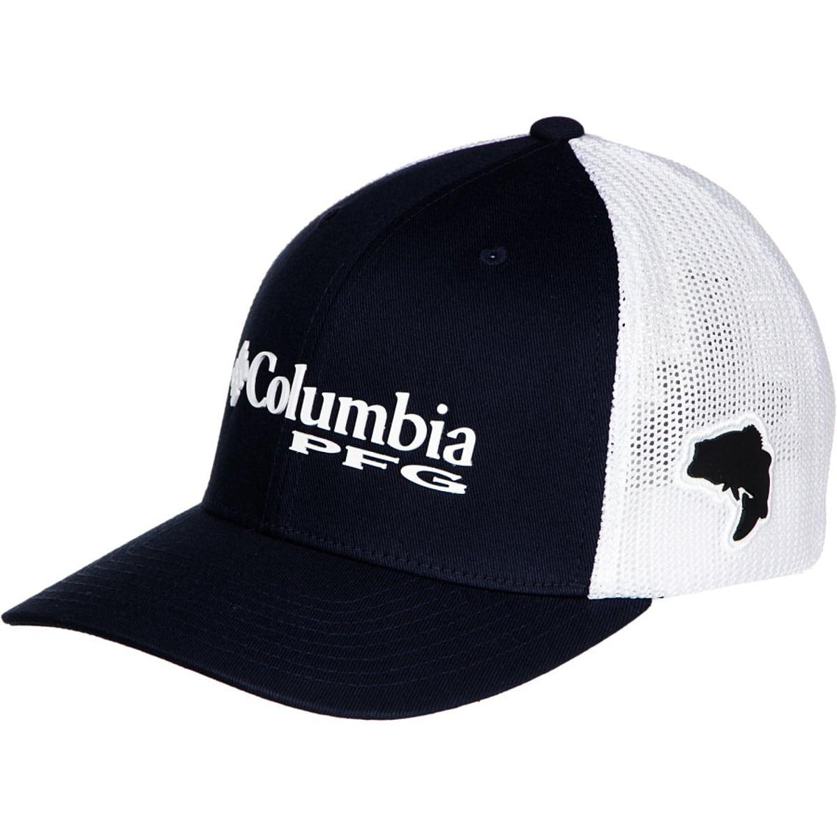 Clothing, Shoes & Accessories Columbia PFG S/M Flex Fit Hat Black