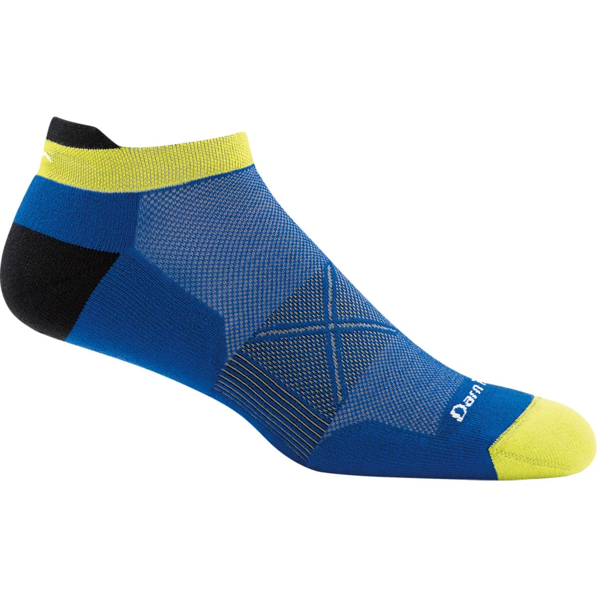 Small Darn Tough women's no show Vertex light cushion Coolmax running sock