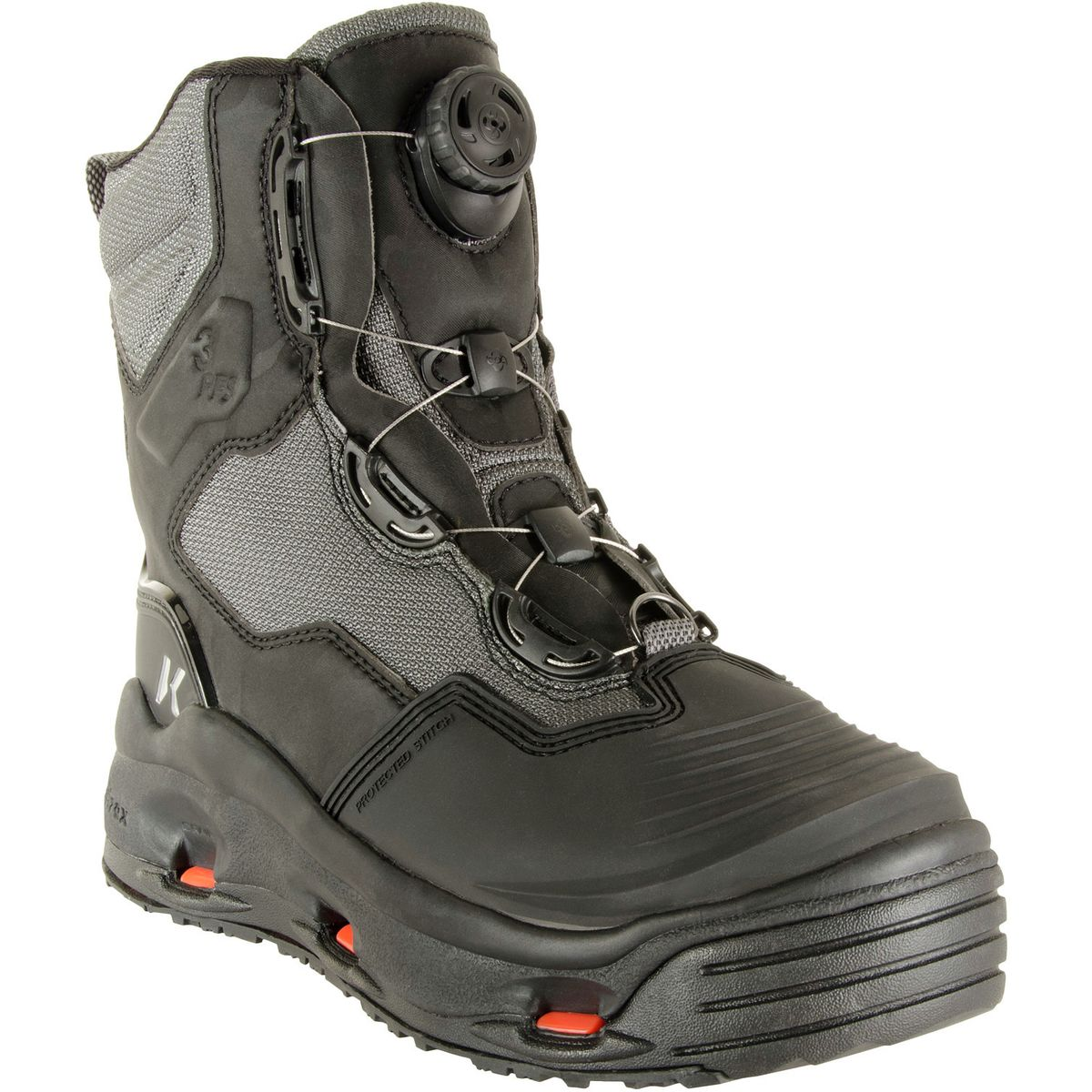 Studded// Kling On Rubber Korkers Fly Fishing Darkhorse Wading Boot