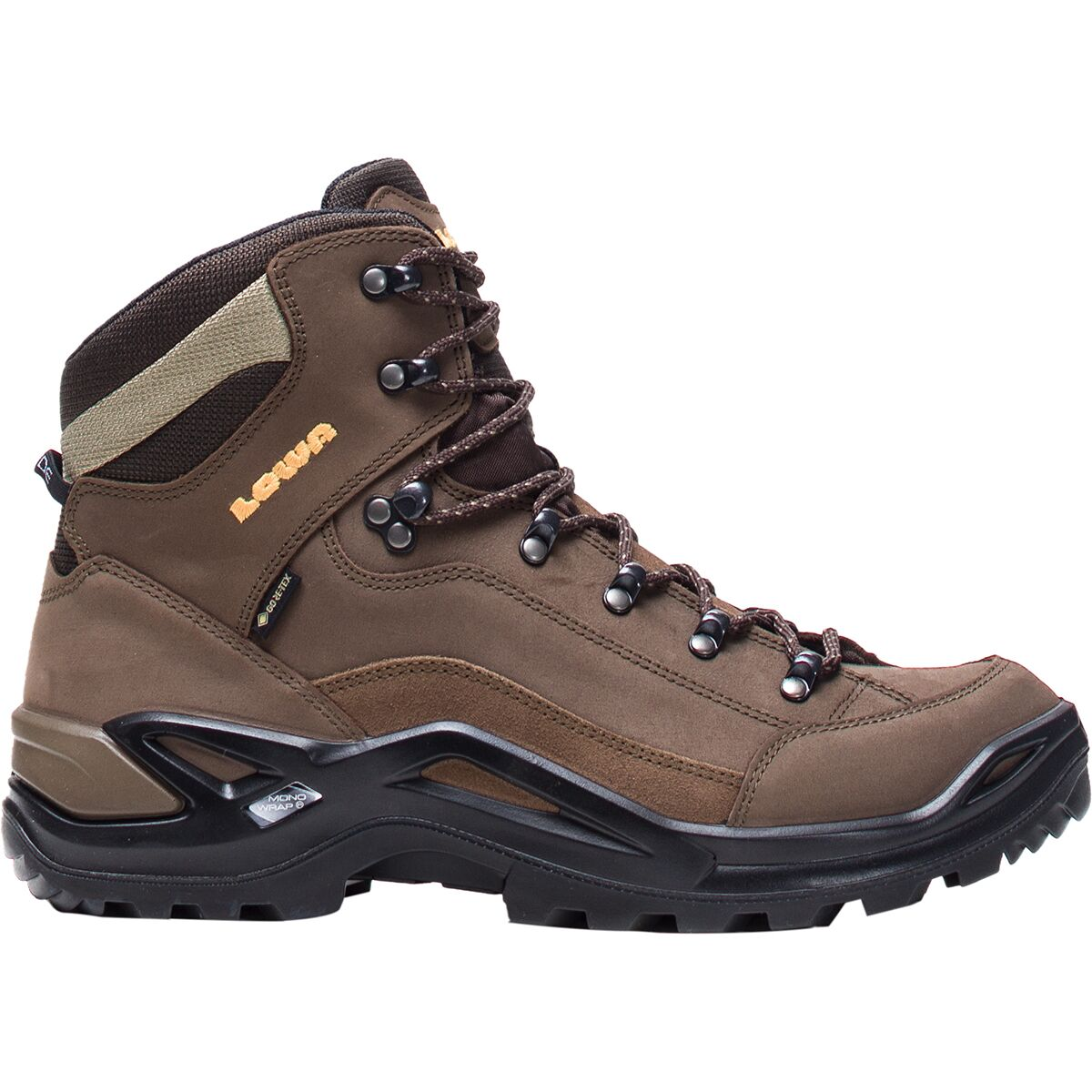Lowa Renegade Gore-Tex Lo Black Mens Waterproof Outdoor Hiking Shoes