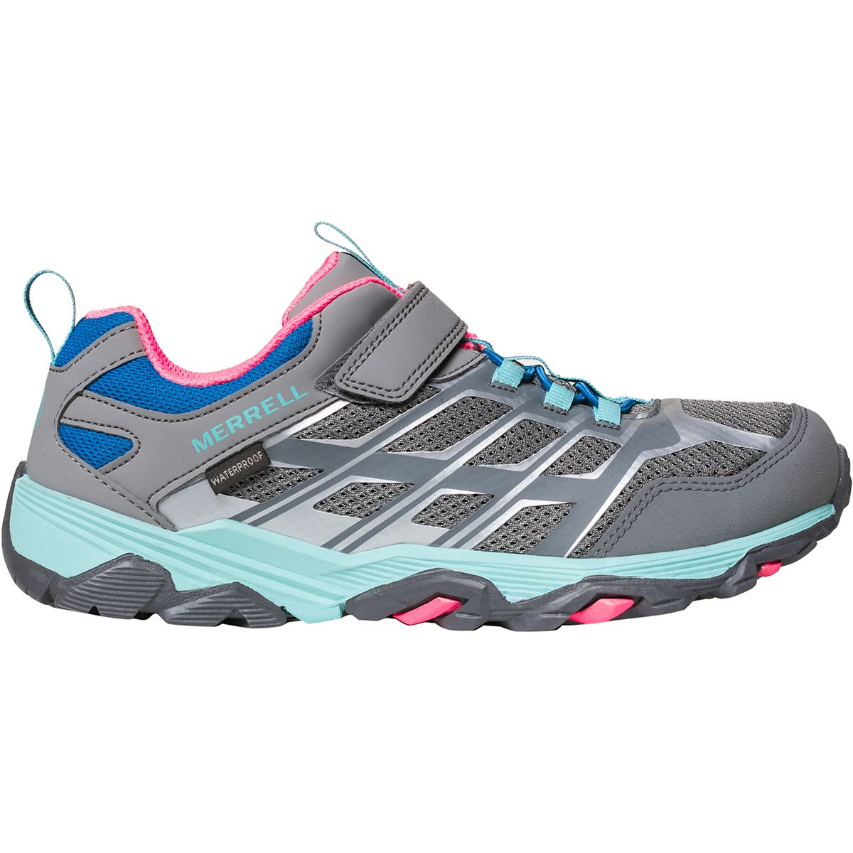 merrell moab fst waterproof light trail shoes - mens room