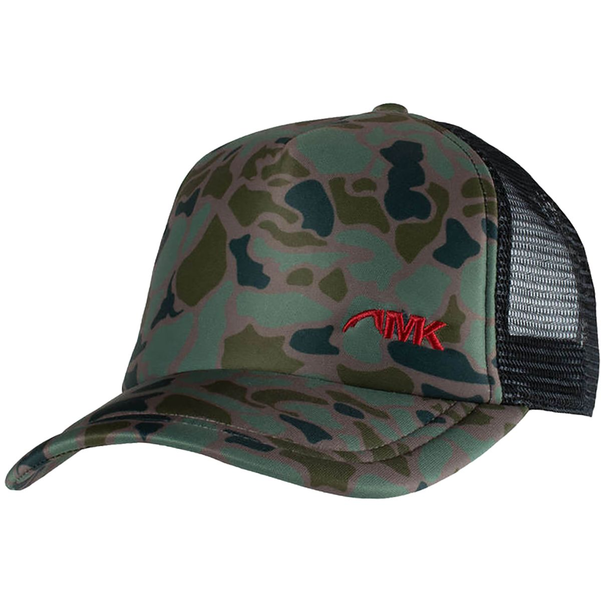 Hiking Backpacking Climbing  Camo Camouflage Snapback Mesh Trucker Hat Cap
