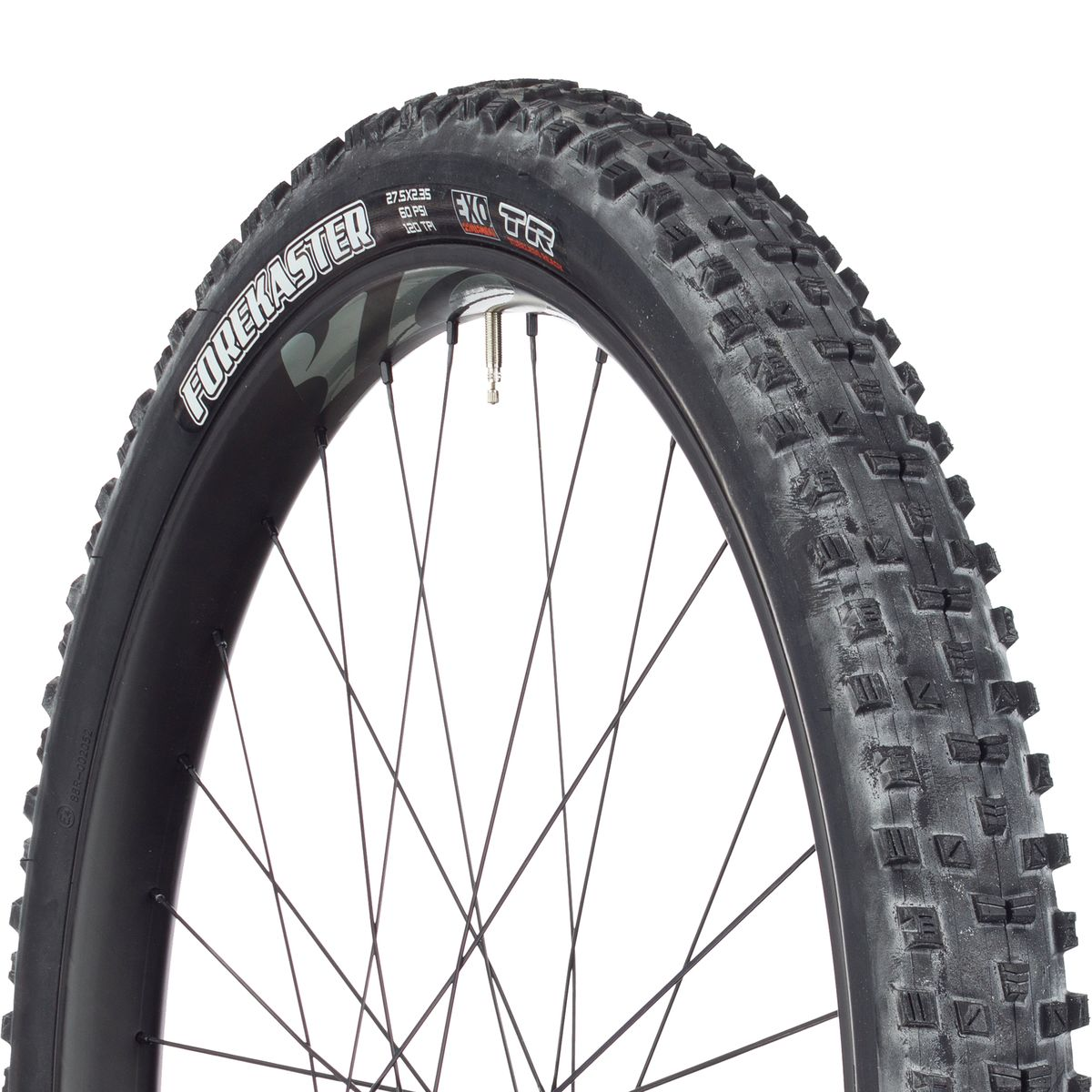 Maxxis Forekaster 27.5x2.35 120tpi Black Dual Compound Tubeless Ready EXO