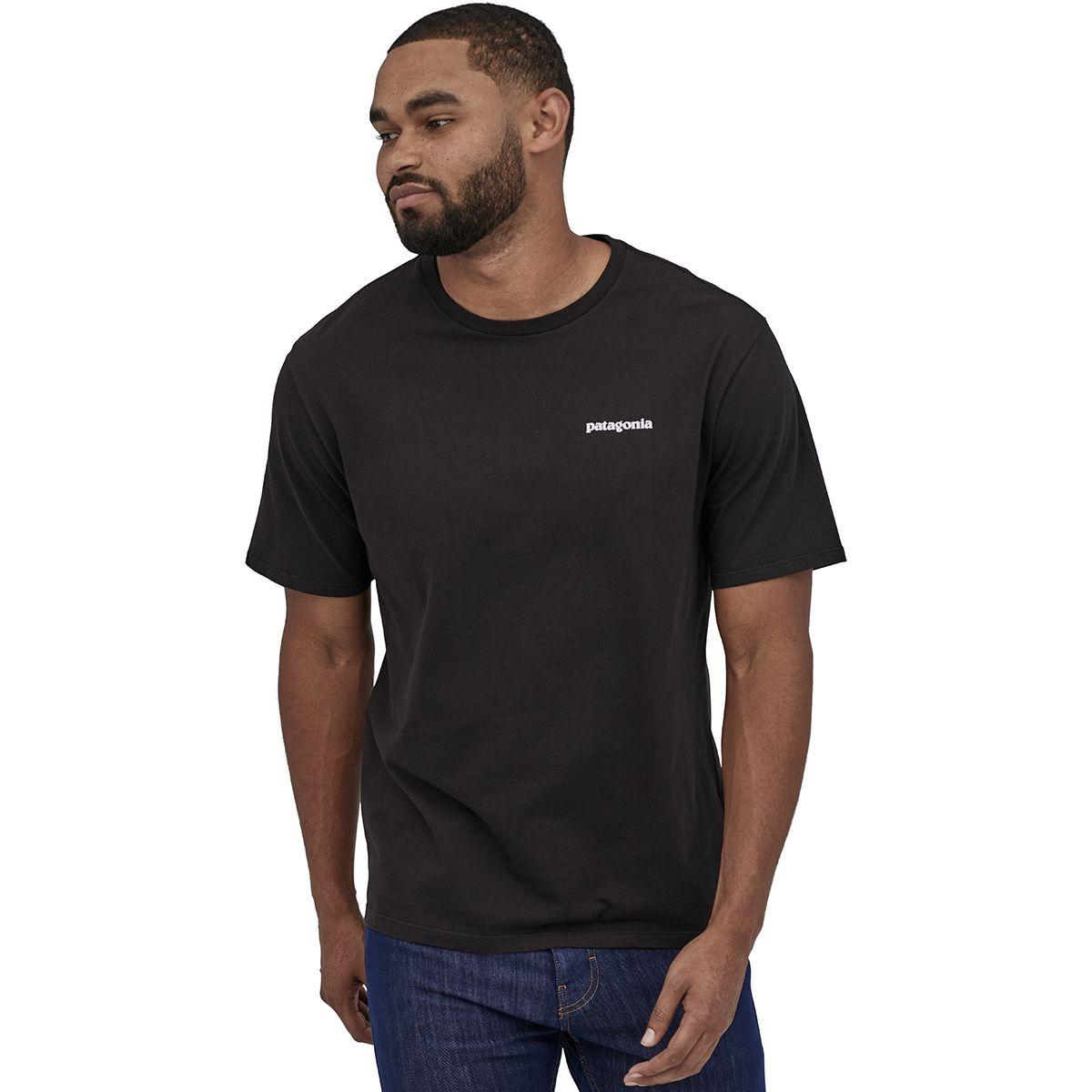 PatagoniaMens P-6 Logo Organic Cotton T-shirtFeather Grey