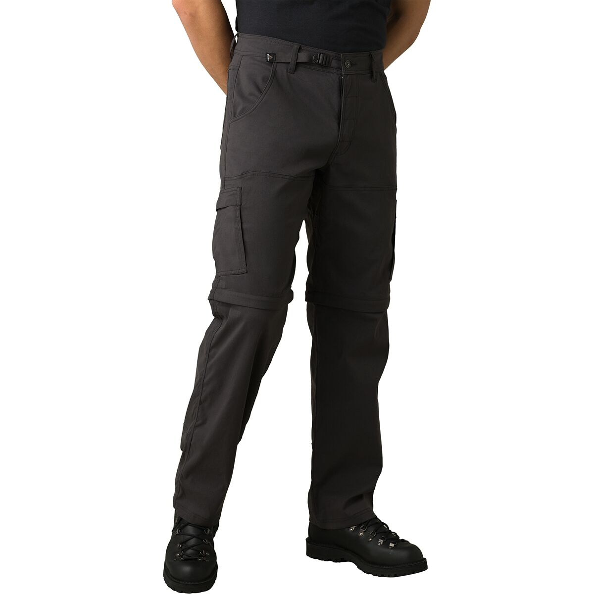 prAna Mens Stretch Zion Convertible Water-Repellent Pants for Hiking and Everyday Wear