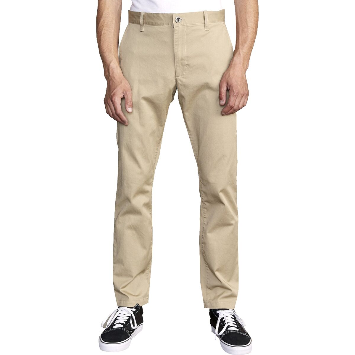 RVCA Mens The Weekend Stretch Chino Pant