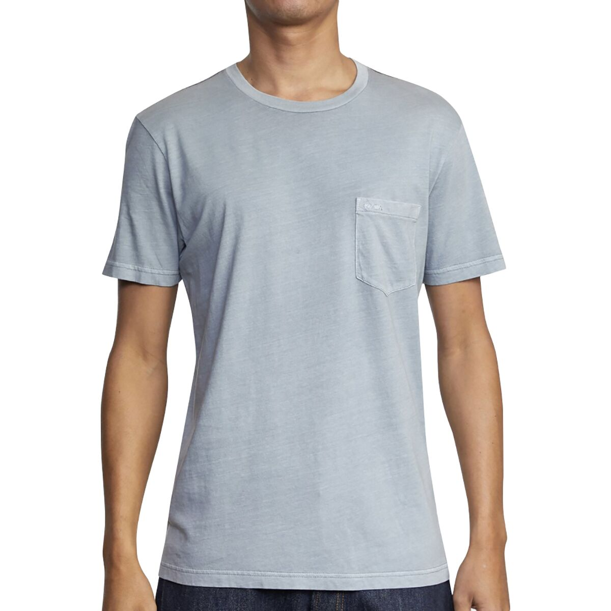 Ether Blue All Sizes Rvca Big Mens T-shirt
