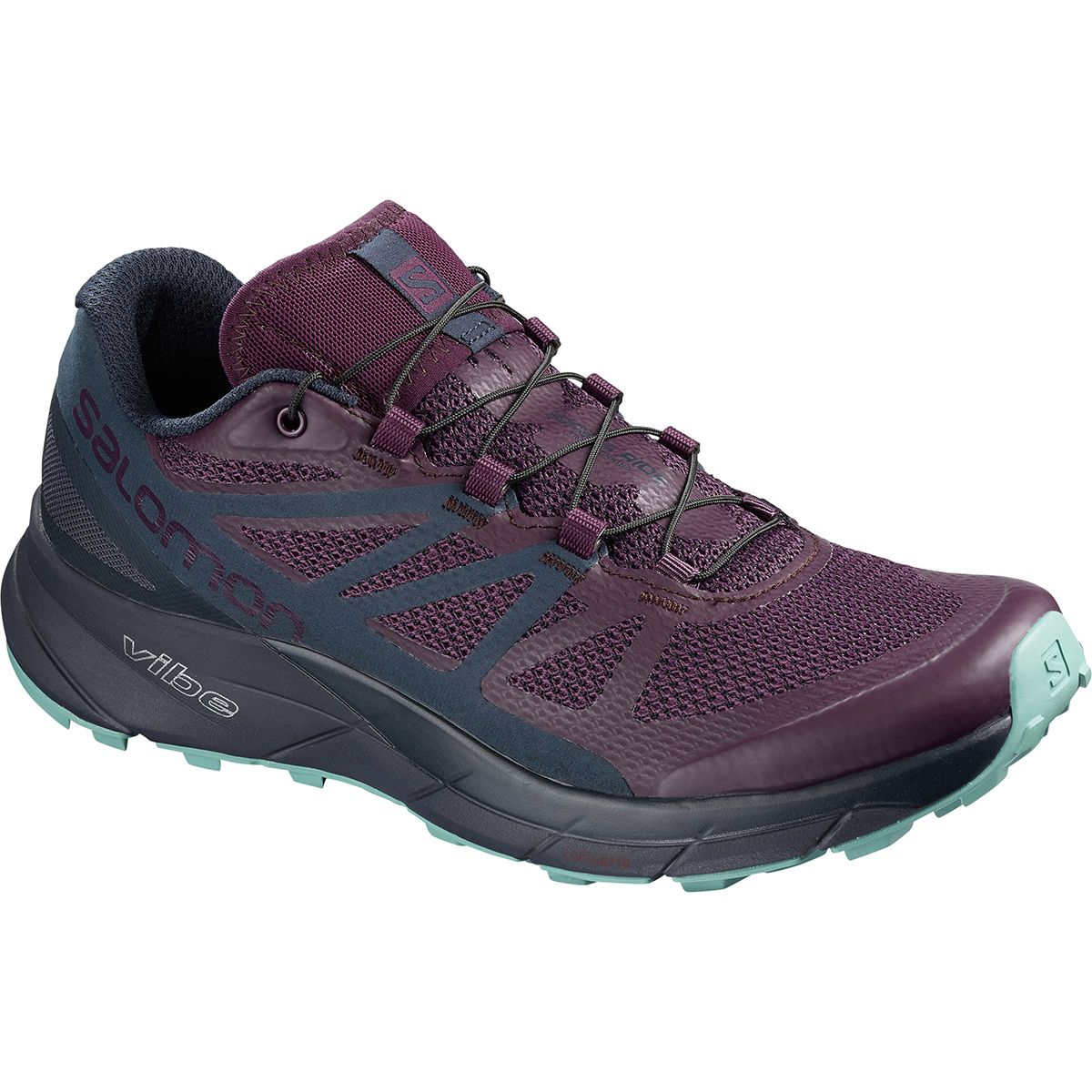 Salomon Sense Ride Trail Running Shoe Women's