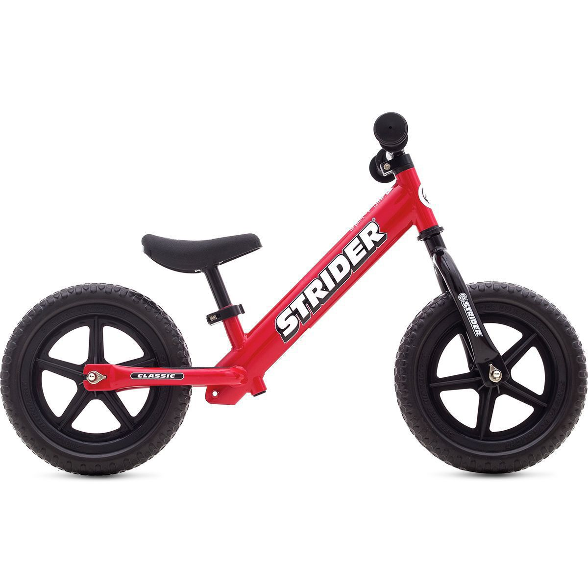 STRIDER 12 Classic Balance Bike Learn To Ride Bike No Pedals RED