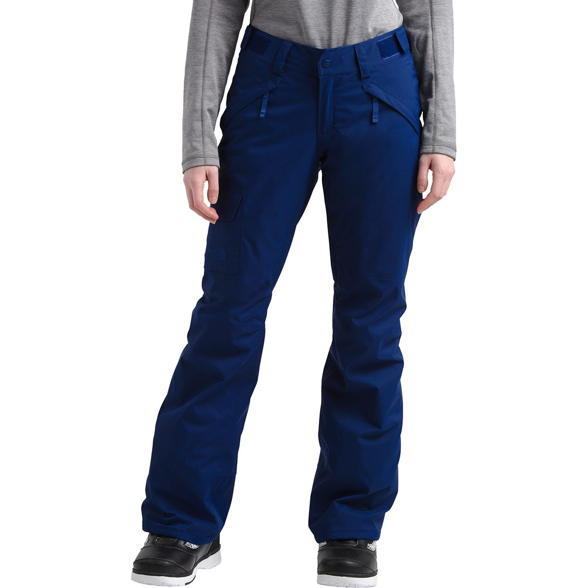 NEW NORTH FACE BOYS FREEDOM INSULATED PANTS SNOW SKI WATERPROOF M MED 10 12 BLUE