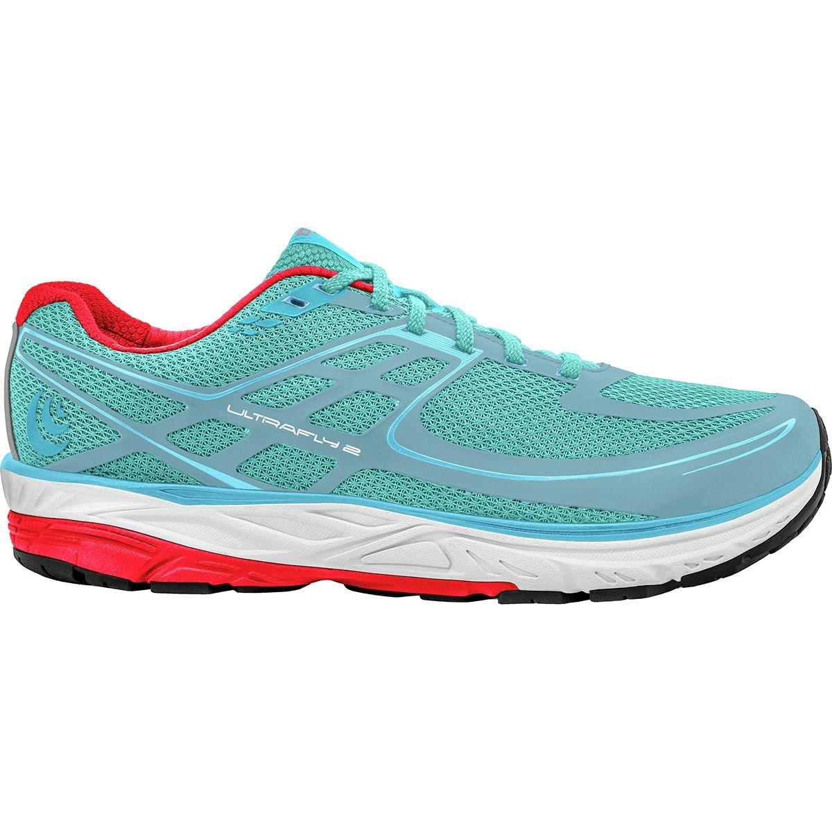 Topo Athletic Women/'s Ultrafly 2 Running Shoe Size 7 US 38 EU Black // Blue