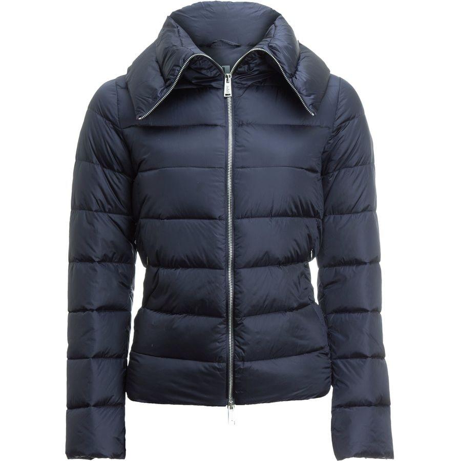 ADD White Goose Down Collar Jacket - Womens