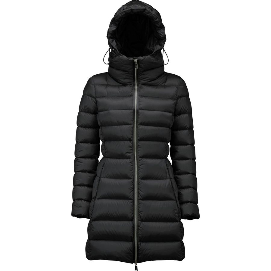 ADD Goose Down Coat with Hood - Womens