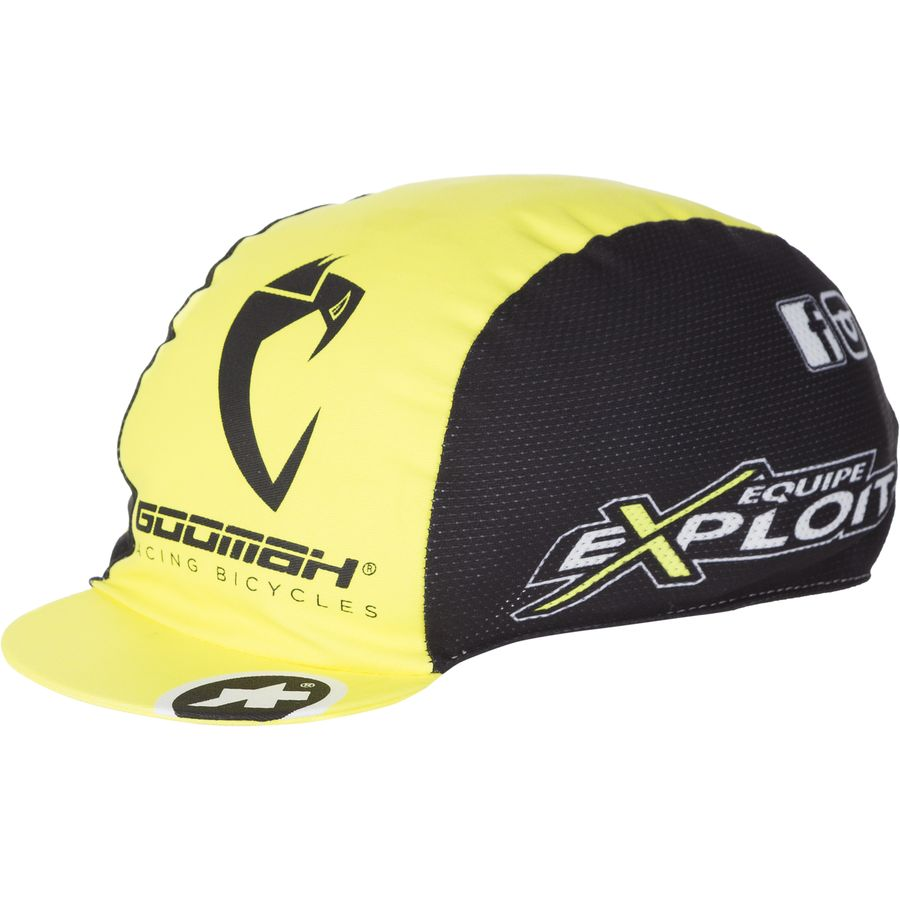 Assos - exploitCap_evo7 Cycling Cap - Volt Yellow/Black Yellow