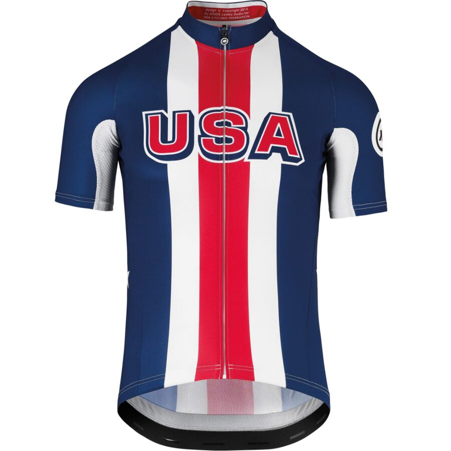 6076db76161 Assos - SS.jersey USA Cycling Jersey - Men s - One Color