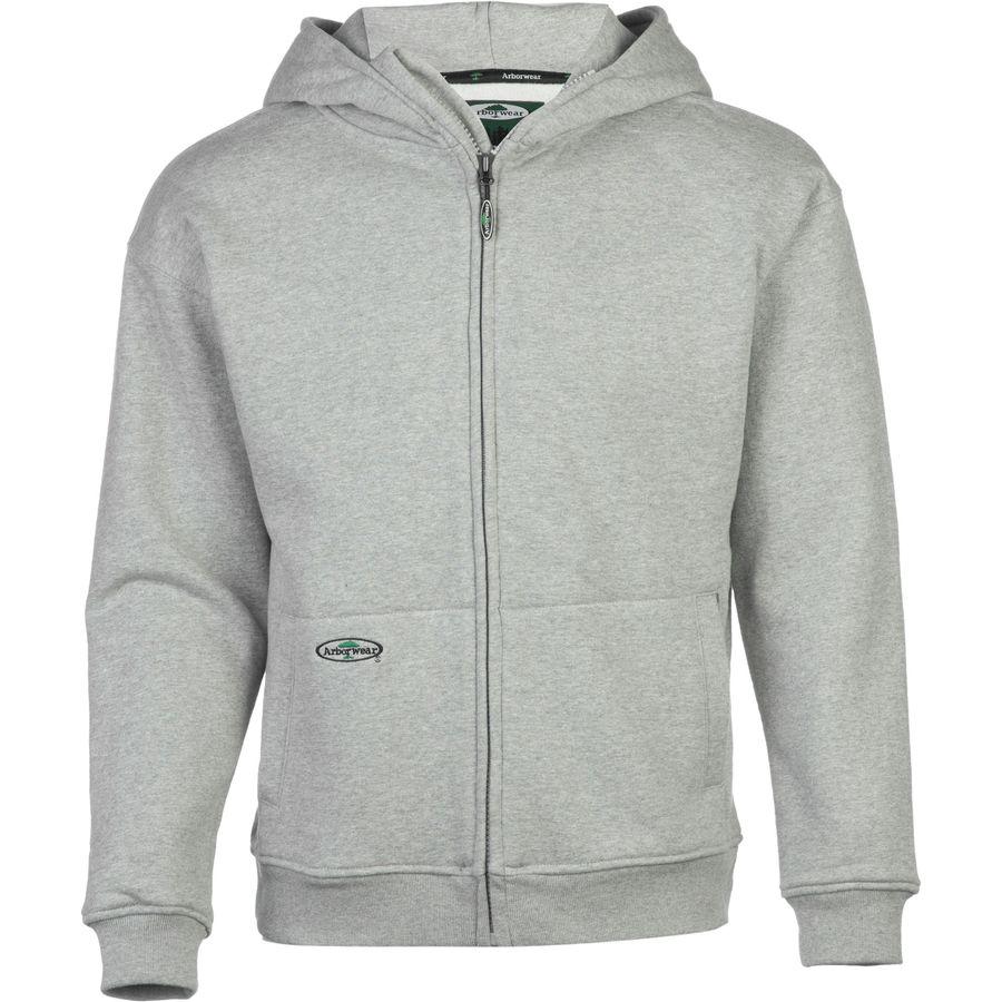 Arborwear Double Thick Full-Zip Hooded Sweatshirt - Mens