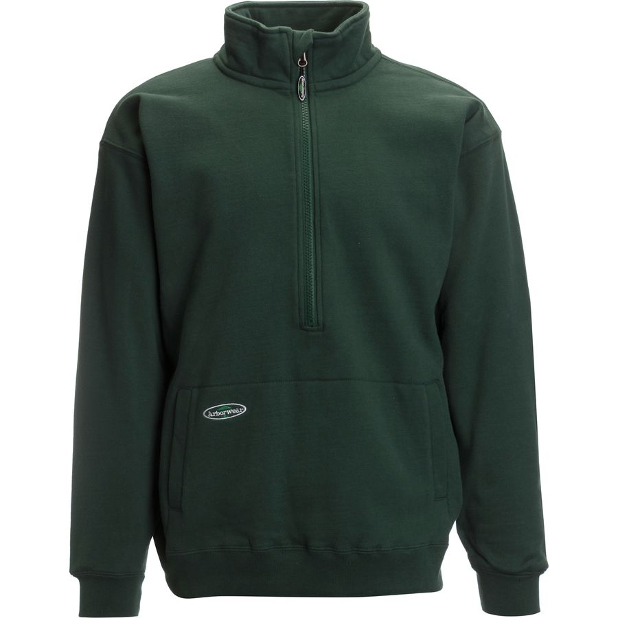Arborwear Double Thick 1/2-Zip Sweatshirt - Mens