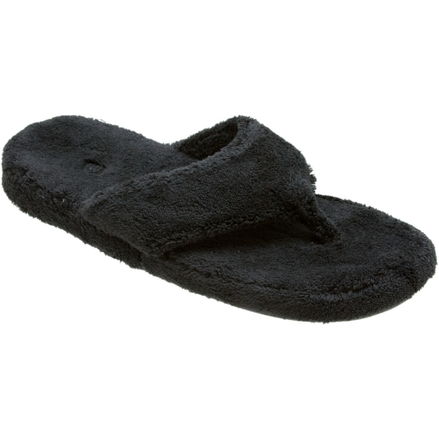 cc0b8021bb60 Acorn - Spa Thong Slipper - Women s - Black