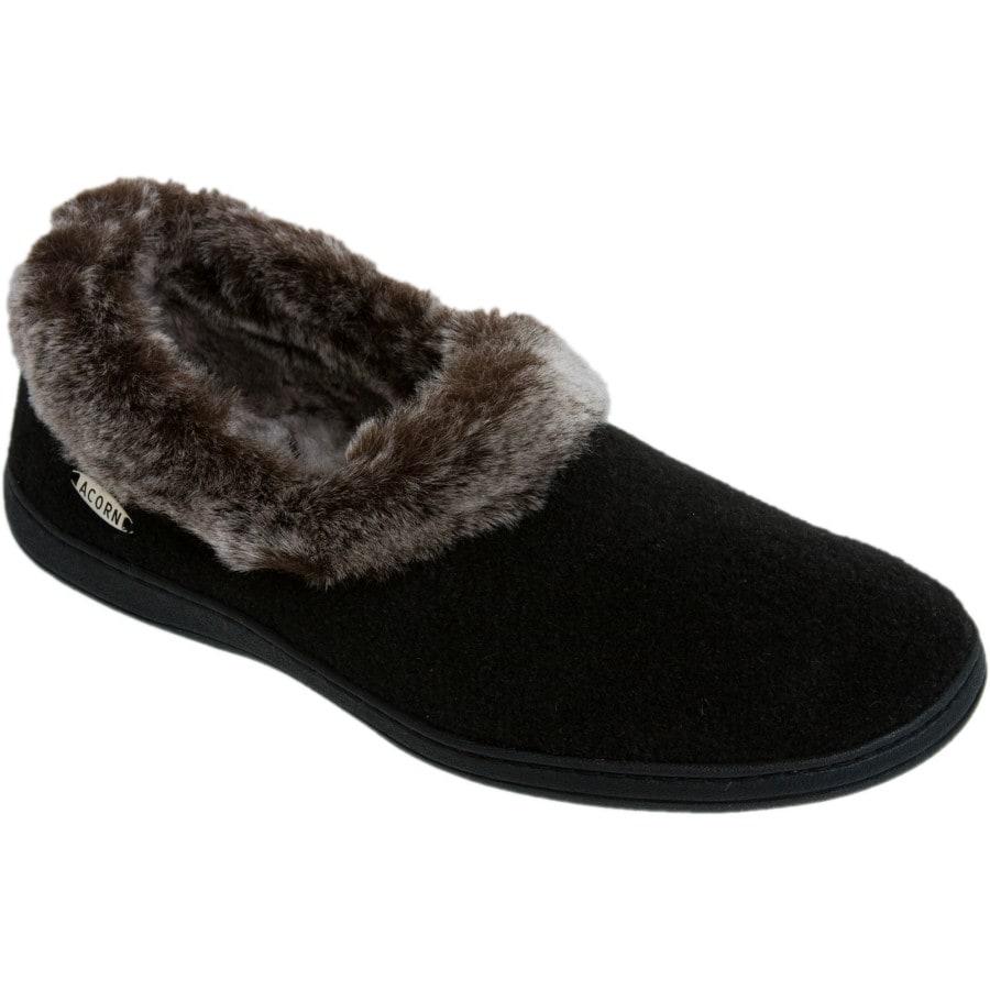 2213bfa12707 Acorn Moccasin Slippers   Acorn® Crosslander Moc Slippers -- Orvis UK Acorn  Chinchilla Collar Slipper - Women  39 s