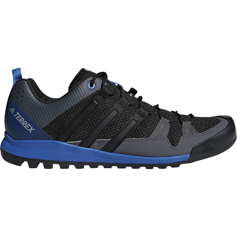 wholesale dealer 39838 9c545 Adidas Outdoor - Terrex Solo Approach Shoe - Mens - BlackBlackBlue Beauty