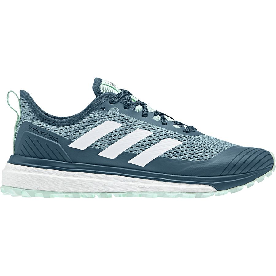 new concept 54d09 d11b6 Adidas Outdoor - Response Boost Trail Running Shoe - Women s -  Black White Real