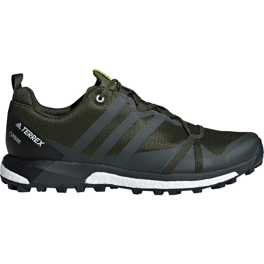 half off 02a62 ddfcd Adidas Outdoor - Terrex Agravic GTX Shoe - Men s - Base Green Base Green