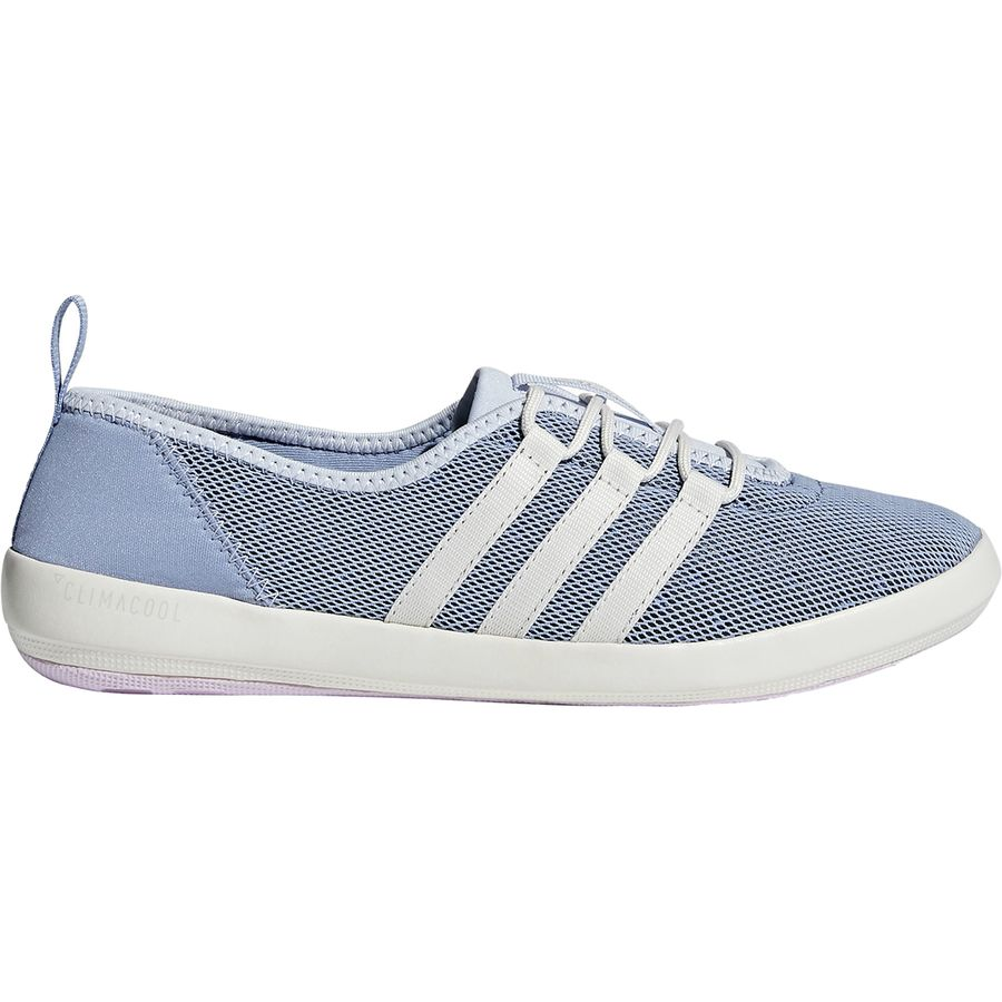 21839d79f685 Adidas Outdoor - Climacool Boat Sleek Water Shoe - Women s - Chalk  Blue Chalk White