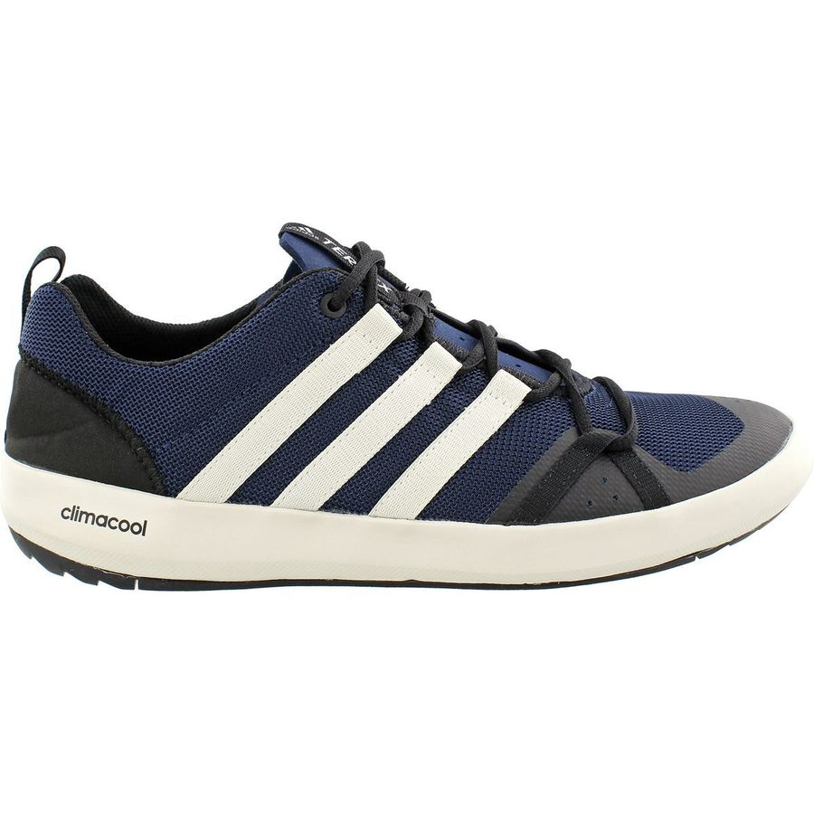 0629386538e Adidas Outdoor - Climacool Boat Lace Shoe - Men s - Collegiate Navy Chalk  White