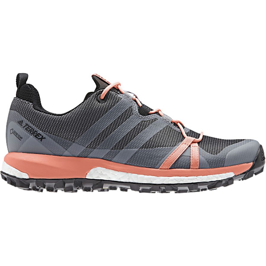 reputable site 119d2 bfd1d Adidas Outdoor - Terrex Agravic Boost GTX Shoe - Women s - Grey Three White