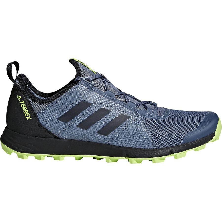 Adidas Outdoor - Terrex Agravic Speed Trail Running Shoe - Men's - Raw  Steel/Black