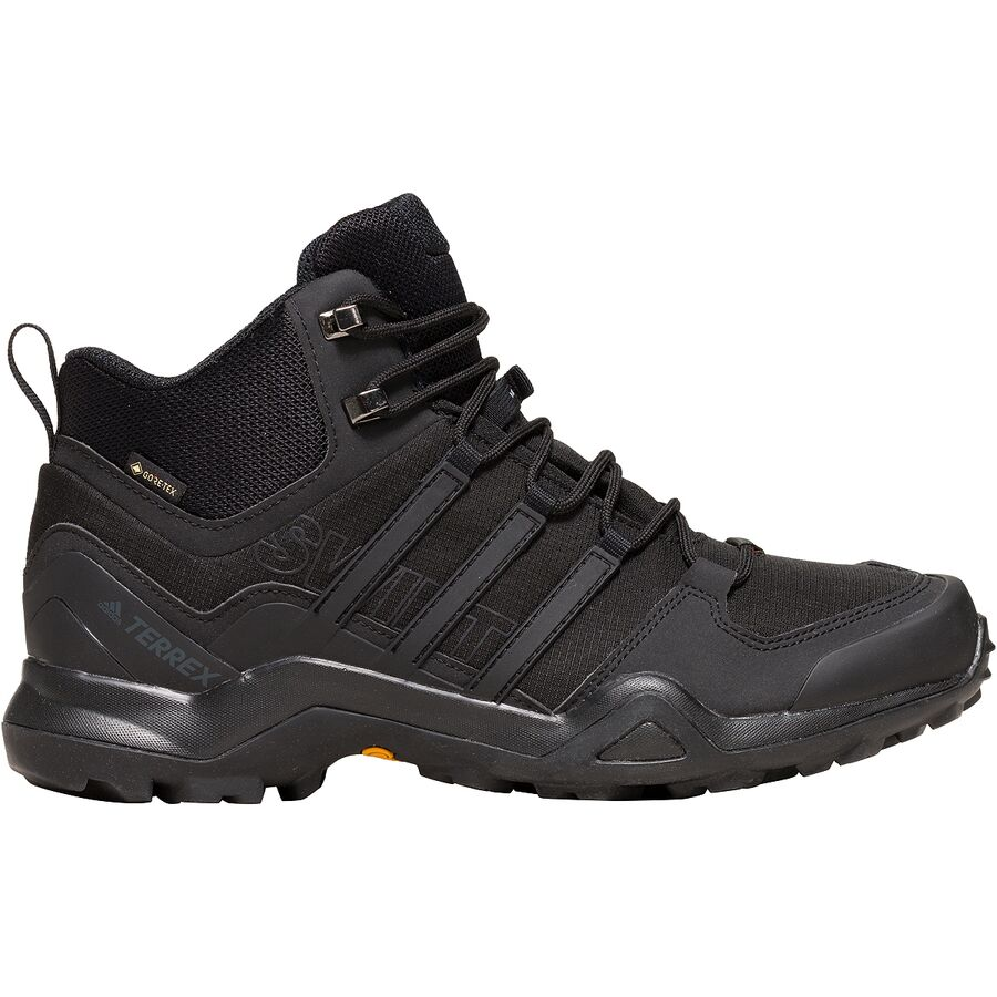 d7f966f489e Adidas Outdoor - Terrex Swift R2 Mid GTX Hiking Shoe - Men s - Black Black