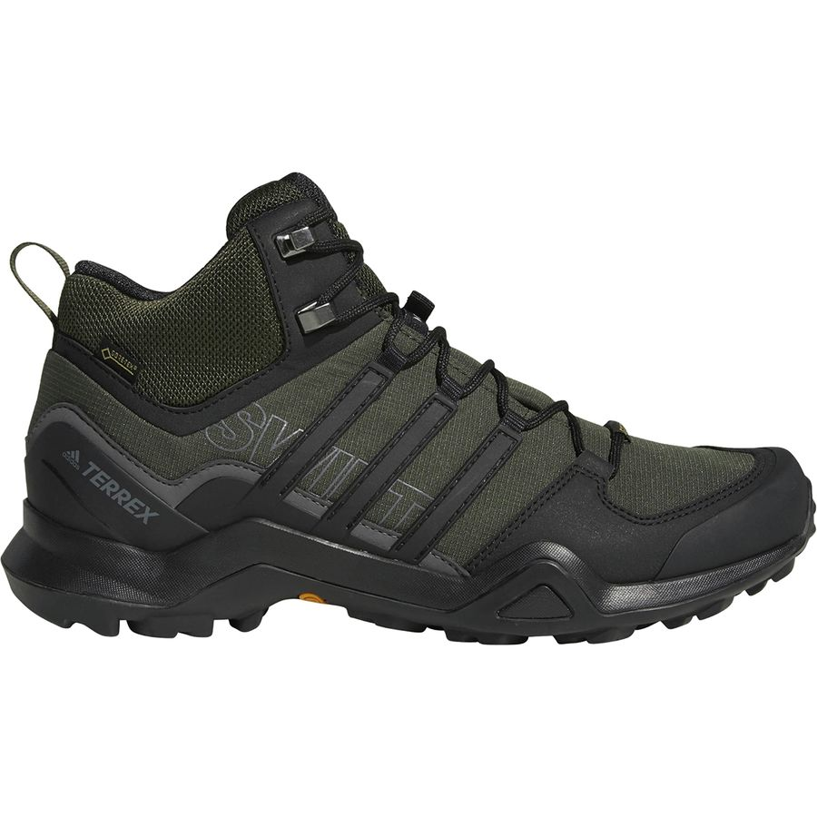 8ffc01863 Adidas Outdoor - Terrex Swift R2 Mid GTX Hiking Shoe - Men s - Night Cargo