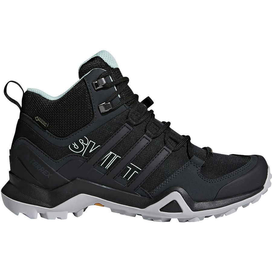 07e3b65dc7843 Adidas Outdoor - Terrex Swift R2 Mid GTX Hiking Boot - Women s - Black Black