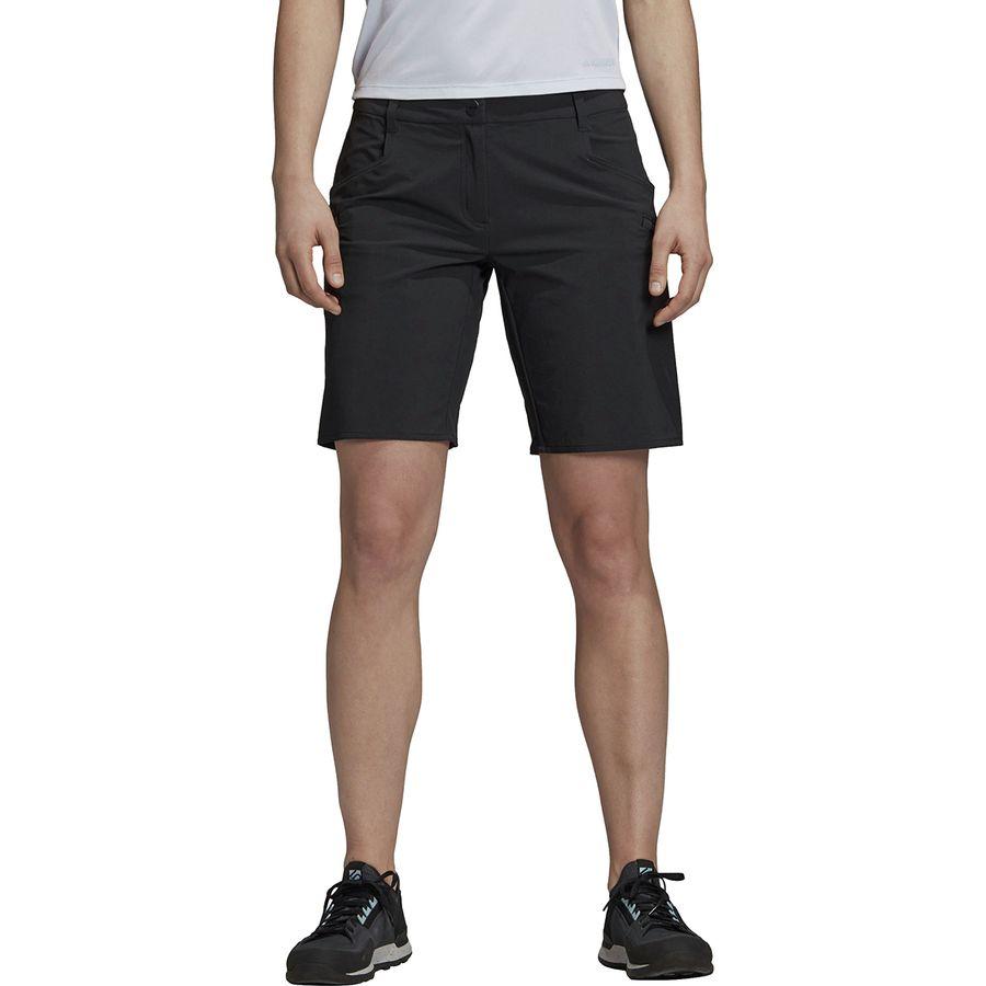 adidas shorts grey womens