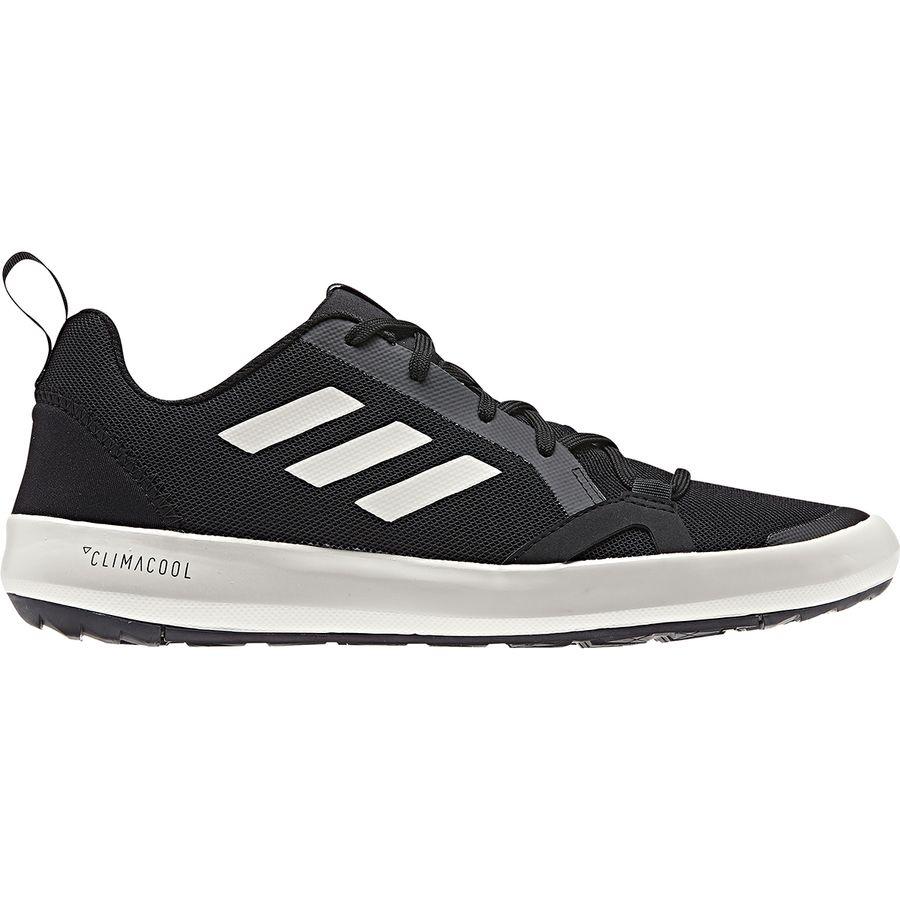 super popular b21f4 bcfc8 Adidas Outdoor - Terrex CC Boat Water Shoe - Men s - Black Chalk White