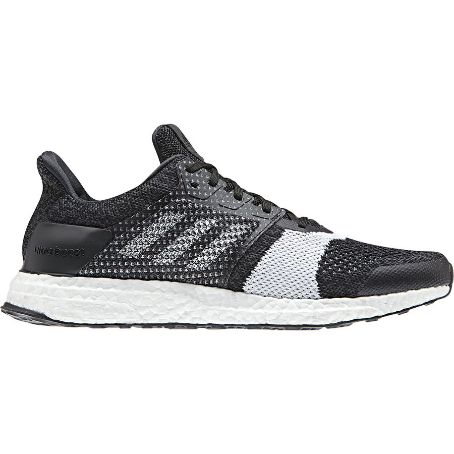 085c4385bd3 Adidas - 3 4 Front -. Adidas - Ultra Boost ST Running Shoe - Men s - Core  Black Footwear White