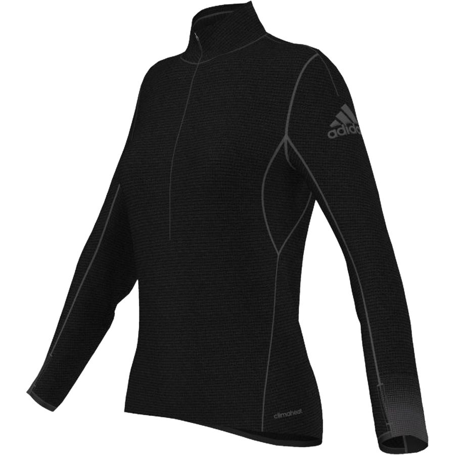 Adidas Climaheat Half-Zip T-Shirt - Womens
