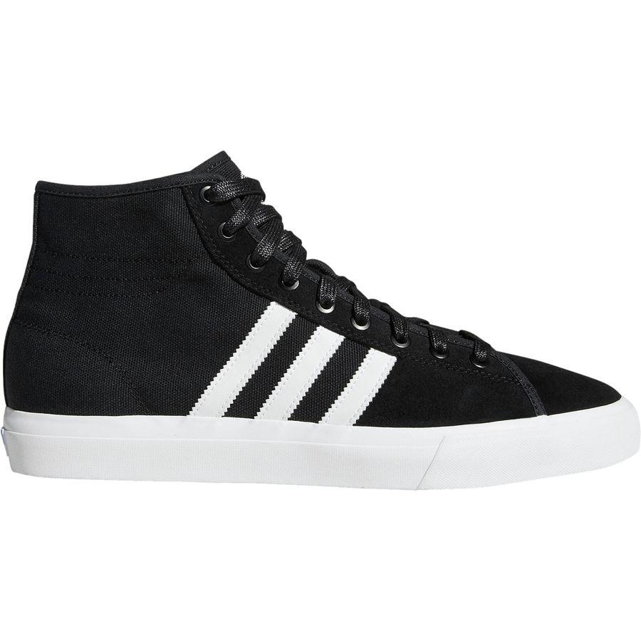 Adidas - Matchcourt High RX Shoe - Men s - Black White Gum4 9970980b9