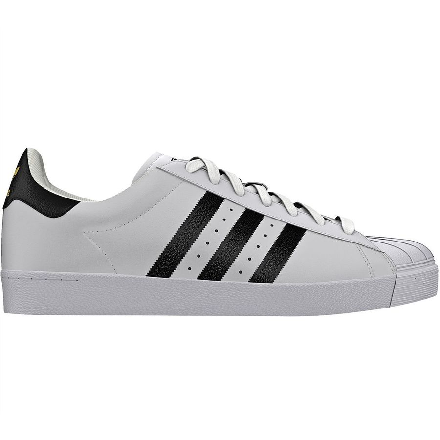 hot sale online 59693 b9cbd Adidas - Superstar Vulc Adv Shoe - Men s - White Black White