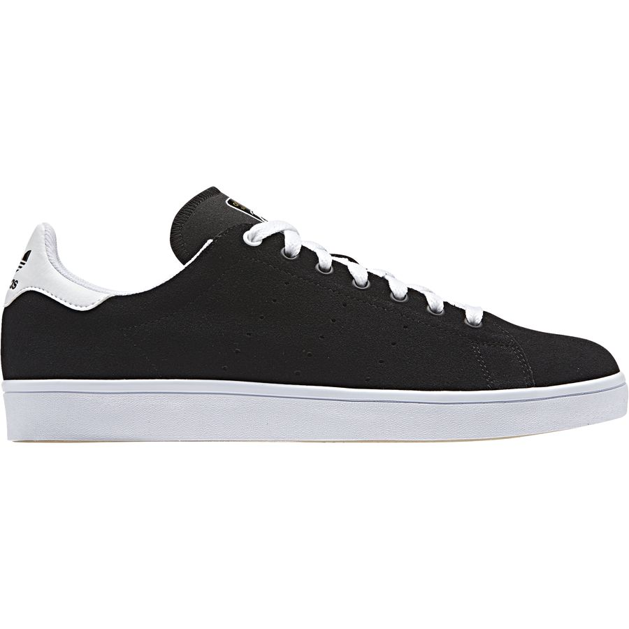 Adidas - Stan Smith Vulc Shoe - Men s - Black Black White 3567fe37c4
