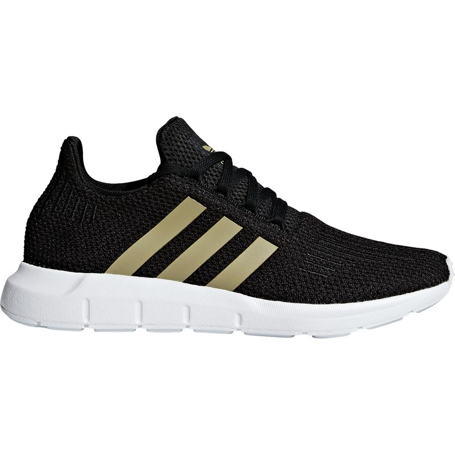 6aac67d65ef8d Adidas - Swift Run Shoe - Women s - Core Black Tech Silver Metallic Ftwr