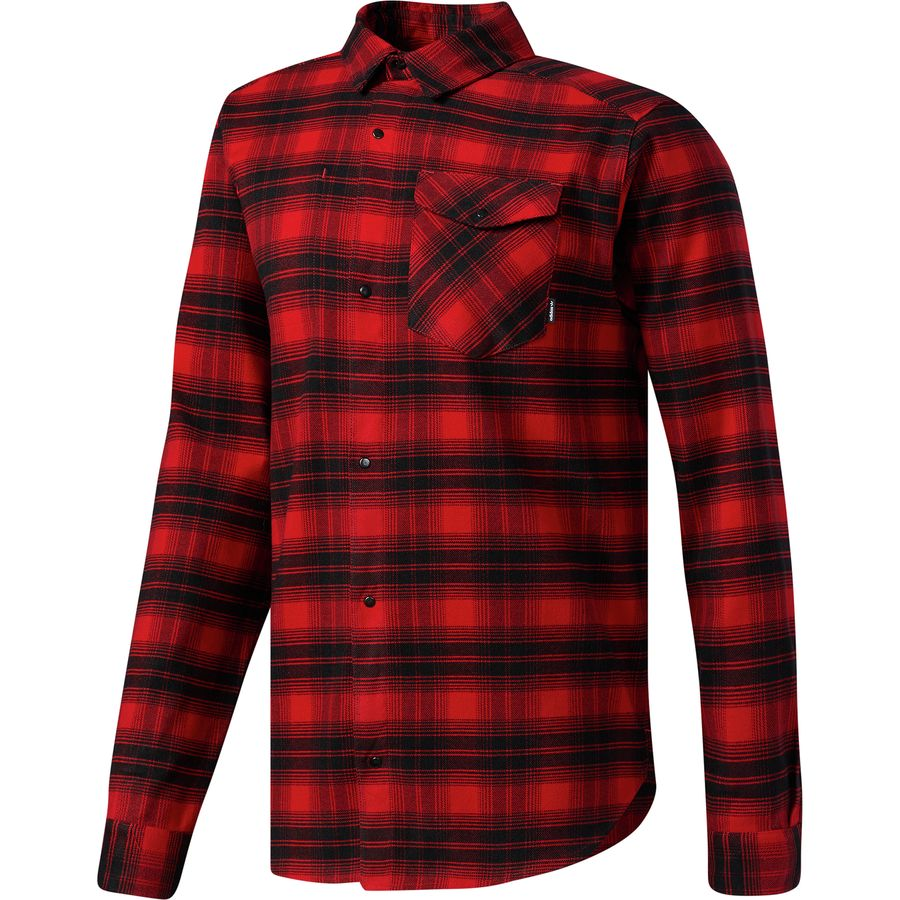 Adidas Stretch Flannel Shirt - Mens