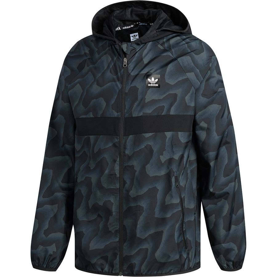 Adidas BlackBird Warp Wind Jacket - Mens